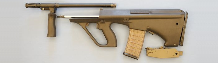 Steyr AUG Complete Parts Kit For Sale – less receiver – SOLD